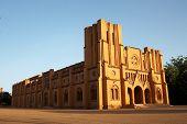 The cathedral in Ouagadougou, Burkina Faso