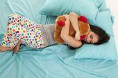 Pajamas Bear Bed Sleep