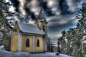 Silence of mountain Calvary