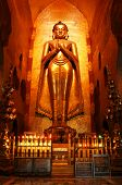 Buddha in ancient temple (Bagan, Myanmar)