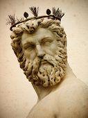 Cosimo I de' Medici, Grand Duke of Tuscany. Fountain of Neptune for the Piazza della Signoria, Florence
