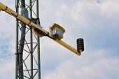 Barometer On Weather Station Antenna