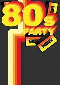 Постер, плакат: Ретро партия фона