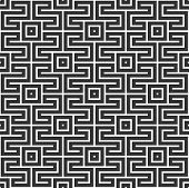 Abstract Korean Or Chinese Seamless Pattern. Repeatimg Geometric Symmetric Ornament. Modern Stylish  poster