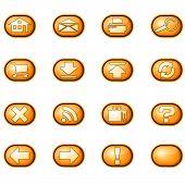 Web Icons A, Orange