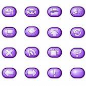 Web Icons A, Purple