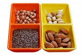 Dry Seeds - Almond, Pistachio, Peanut And Flaxseed