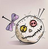 Pincushion With Eyes