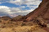 Mountainous Desert In Israel