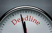 Deadline Conceptual Image