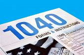Form 1040 U.S. Income Tax Return Instructions Book