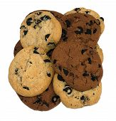 Shortbread Cookies With Chocolate Chip