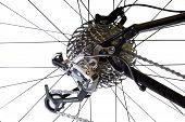 Fahrräder hinten Gear System ändern
