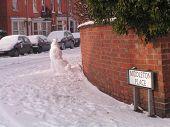 The street in winter