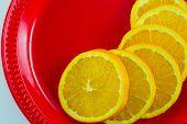 Plate of Oranges