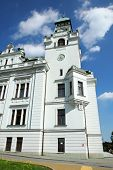 Old City Hall In Miner City Ostrava