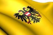 Flagge Heiliges Römisches Reich (1437-1493)