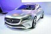 BANGKOK, THAILAND - Mar 28: The New Mercedes Benz Concept A Class Car Shown At The Bangkok Motor Sho