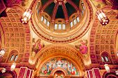 Saint Matthew Cathedral Basilica Dome Washington Dc