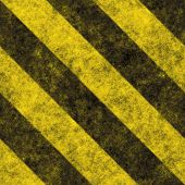 foto of warning-signs  - A diagonal hazard stripes texture - JPG
