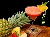 Tropical Fruit Cocktail