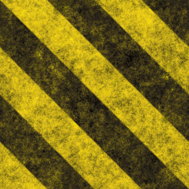picture of warning-signs  - A diagonal hazard stripes texture - JPG