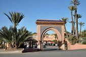 Gate In Marrakech, Morocco