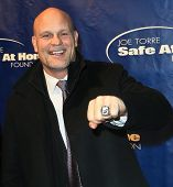 NEW YORK-JAN 24: NHL player Ken Daneyko attends the 10th Anniversary Joe Torre Safe At Home® Founda