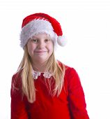 Girl Elf In Red Left