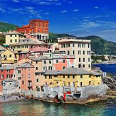 pic of genova  - Colorful Italy series  - JPG