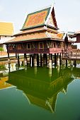 the scripture wooden hall wat mahathat