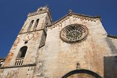 St. Mark's Cathedral in Korcula in Croatia