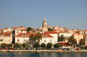 The Old Town of Korcula in Croatia