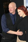 LOS ANGELES - JAN 24:  Derek Mears arrives at the the 'Hansel And Gretel: Witch Hunters' premiere at