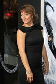 LOS ANGELES - JAN 24:  Zoe Bell arrives at the the 'Hansel And Gretel: Witch Hunters' premiere at th