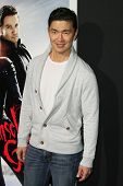 LOS ANGELES - JAN 24:  Rick Yune arrives at the the 'Hansel And Gretel: Witch Hunters' premiere at t