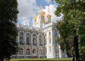Catherine's Palace In Pushkin Closeup