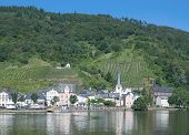 Alf,Mosel River,Germany