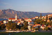 Village Postira on Brac island in Croatia