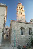 Church in Pucisca on Brac Island, Croatia