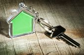 Schlüsselanhänger und Schlüssel