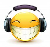 Emoticon musical