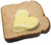 Melting Butter Heart