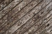 Wooden texture decay