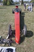 Red Drag Racer Low View