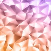 Abstract Crystal Colorfull Background