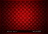 Red Carbon Background