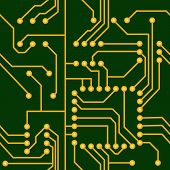Seamless Electronic Circuit
