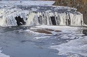 Winter Snowy Falls
