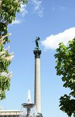 Statue of Concordia, Schlossplatz Stuttgart, Germany